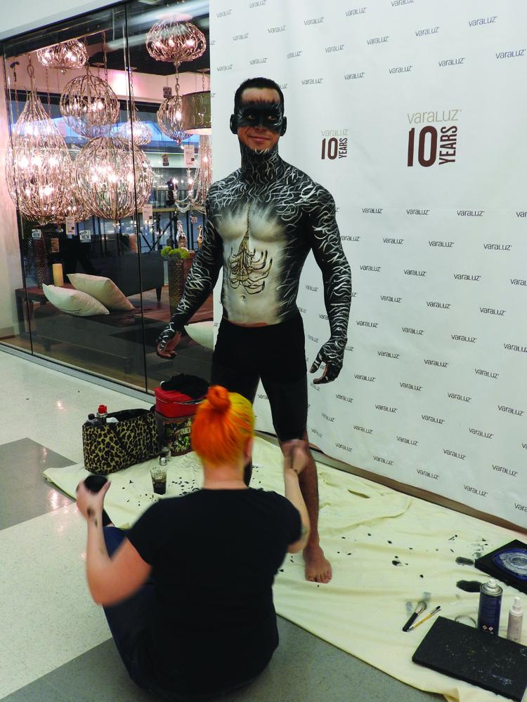 Dallas Market_Varaluz bodypaint