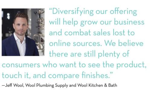 Jeff Wool, Wool Plumbing Supply and Wool Kitchen & Bath