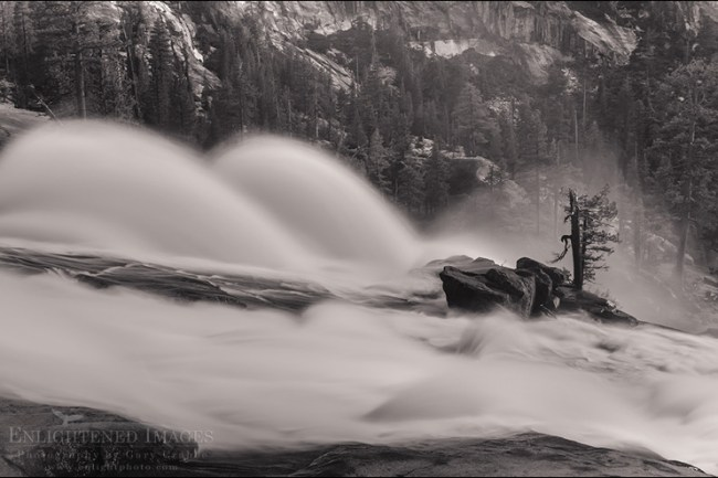 Image: Waterwheels in LeConte Falls, Tuolumne River, Yosemite National Park, California