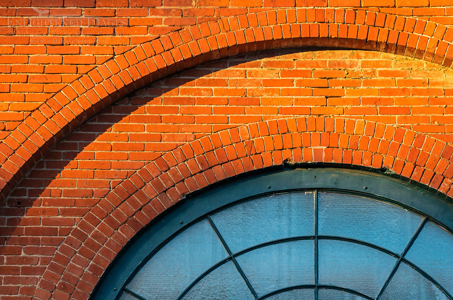 Image: Brick and glass, Mare Island Naval Shipyard National Historic Landmark, Vallejo, California