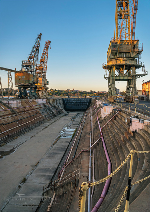Image: Drydock at Mare Island Naval Shipyard National Historic Landmark, Vallejo, California
