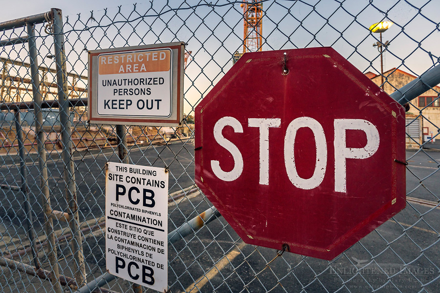 Image: Stop PCB Contamination, Mare Island Naval Shipyard National Historic Landmark, Vallejo, California