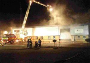 The fire at Matt Black Systems