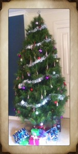Christmas Tree With Present and Gifts