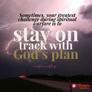 Signs spiritual warfare is a distraction