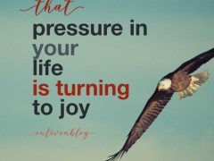 "Prophetic Word: That ""Pressing"" is Turning into Joy"