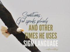 God's Sign Language