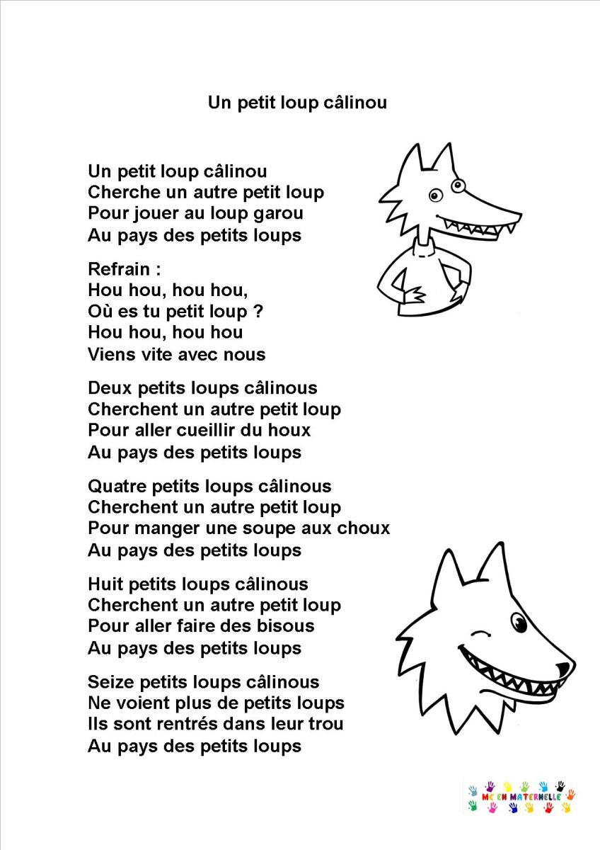 Un Petit Loup Calinou