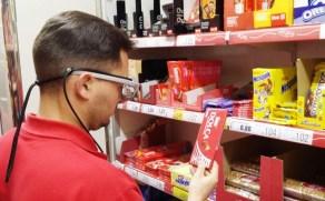 Eye tracking con gafas