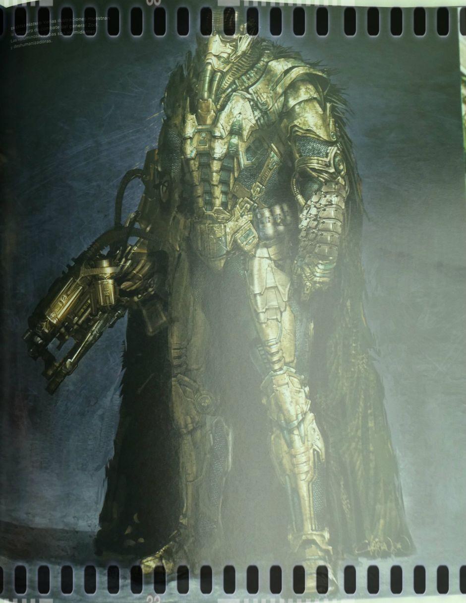 Personajes villanos (y sus vestimentas) adaptados al cine: General Zod