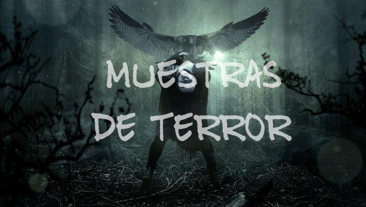 Muestras de terror