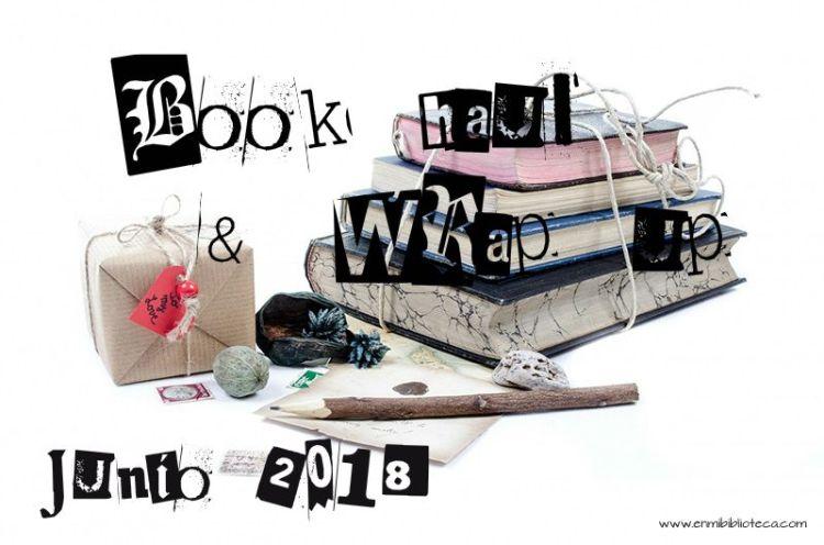 Book haul & Wrap up de junio 2018: imagen principal