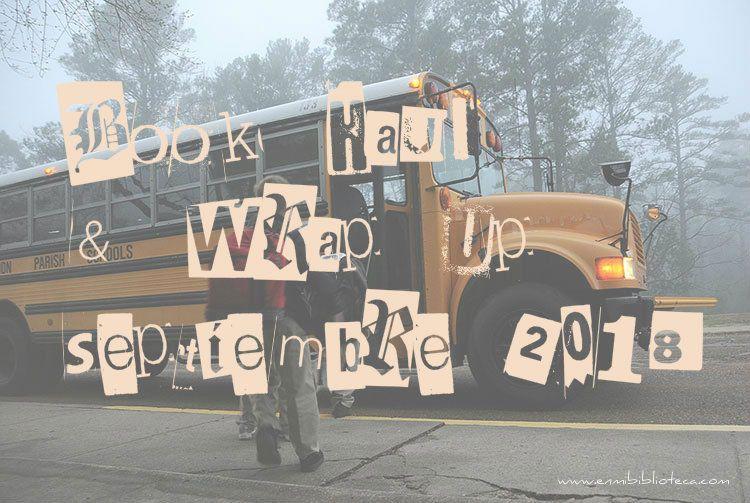 Book haul & Wrap up de septiembre 2018: imagen principal