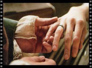Cómo diseñar tu objeto especial: anillo de boda de Claire y Jamie