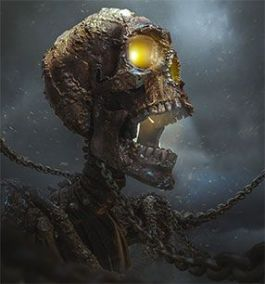 Reseña de Agencia Lockwood: esqueleto atado a cadenas de hierro