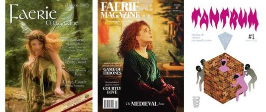 Book haul & Wrap up de noviembre 2018: revistas Tantrum y Enchanted Living