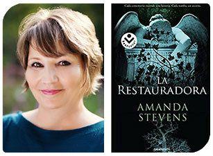Esta Navidad regala autoras: Amanda Stevens y La restauradora