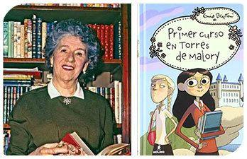 Esta Navidad regala autoras II: Enid Blyton y Primer curso en Torres de Malory