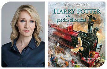 Esta Navidad regala autoras: J. K. Rowling y Harry Potter y la piedra filosofal