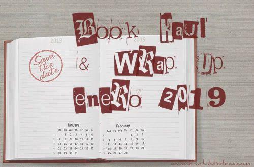 Book haul & Wrap up de enero 2019: imagen principal
