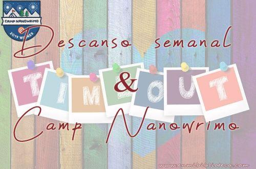 Descanso semanal & Camp NaNoWriMo: imagen principal