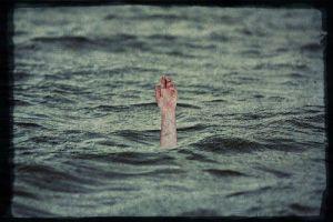 Hombre ahogado