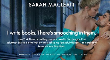 Página web de Sarah MacLean