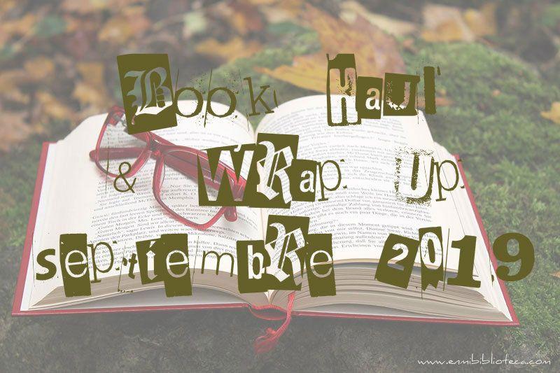 Book haul & Wrap up de septiembre 2019