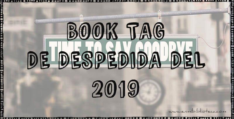 Book tag de despedida del 2019: imagen principal