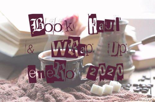 Book haul & Wrap up de enero 2020: imagen principal