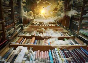 Una biblioteca divina