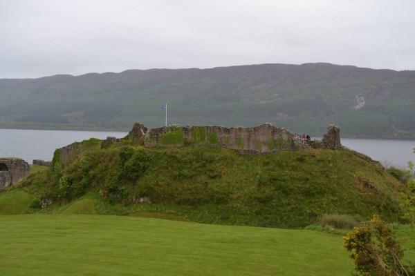 mes vacances en Ecosse visite chateau d'Urquhart