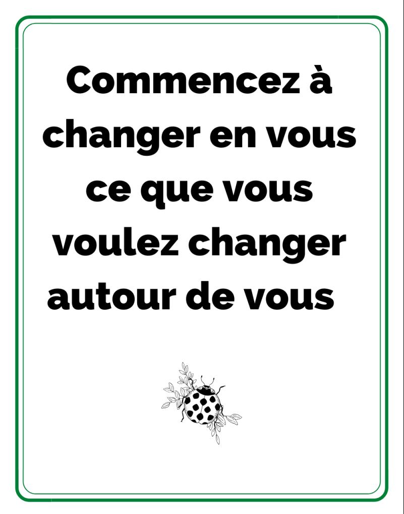 changer pour vivre mieux