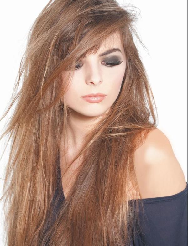 fryzura długie cieniowane