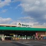 スーパーダイユー若松店まで0.8km(周辺)