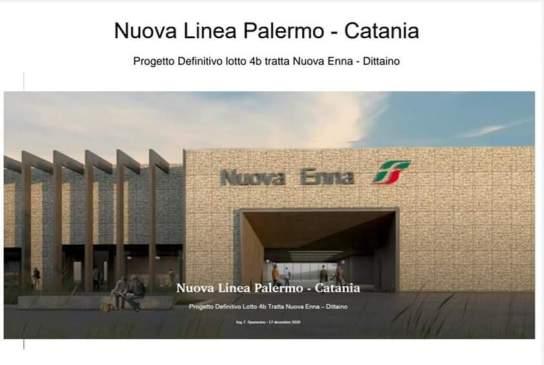 Nuova Linea Ferroviaria Palermo Catania: a Sacchitello arriva l'alta velocità.