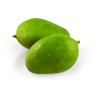 青芒果 (Green Mangoes(unripe))