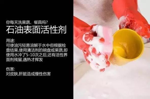 化学洗涤剂的洗污能力主要来自表面活性剂