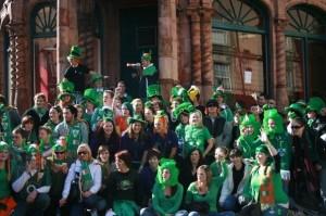 Festival de Saint -Patrick , à Dublin, Irlande