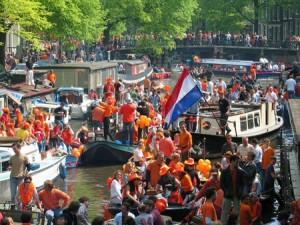 Koninginnendag ( Jour de la Reine ) , Pays-Bas