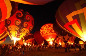 Albuquerque International Balloon Fiesta , Nouveau-Mexique