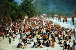 Festival de la Plaine Lune  , Haad Rin , Ko Pha Ngan , Thaïlande
