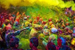 Festival de Holi , Inde