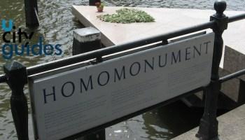 monument gay en Amsterdam