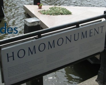 monument gay en Amsterdam