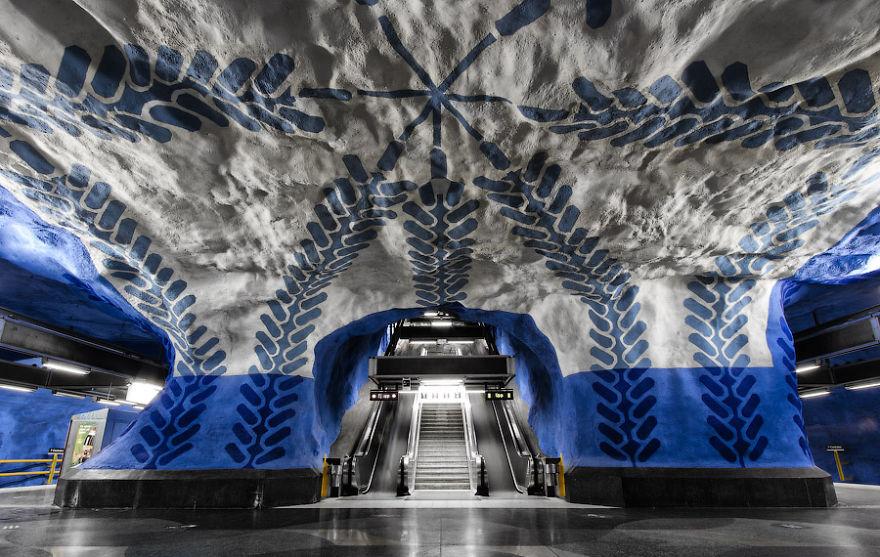 T-Central Station, Stockholm, Suède