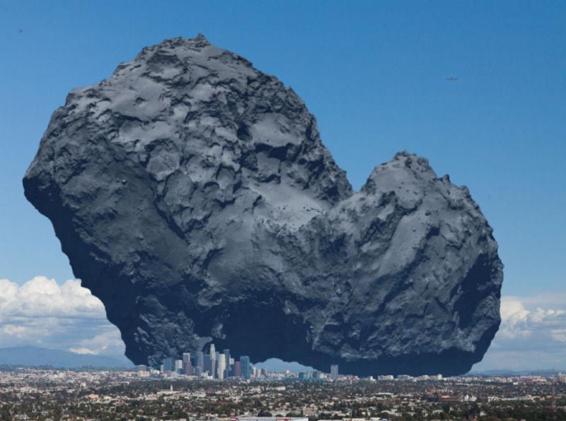 L'incroyable comete