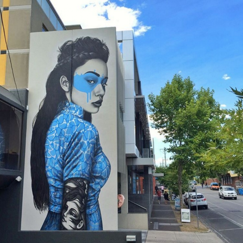 20 œuvres d'art de la rue, dont le cœur bat plus vite