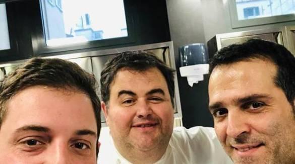 """Cristoforo Trapani compleanno al Lunasia con Gennarino Esposito , poi premiato a New York per """"Avvocato Gourmet"""""""