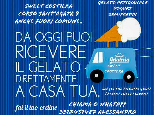 Sant'Agata. Ha riaperto la gelateria Sweet Costiera!